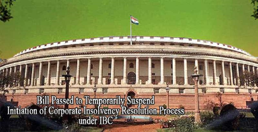 Rajya Sabha Passes Bill to Temporarily Suspend…