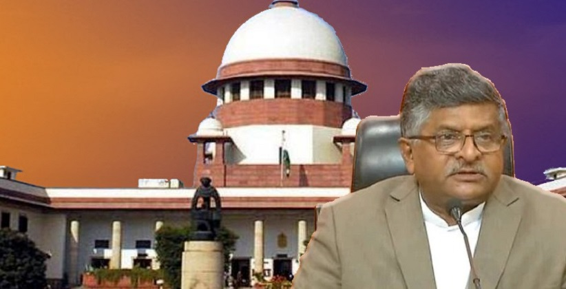 IDEA OF ESTABLISHMENT OF SC BENCH OUTSIDE DELHI IS NOT FAVOURED BY SUPREME COURT- LAW MINISTRY [READ RESPONSE]