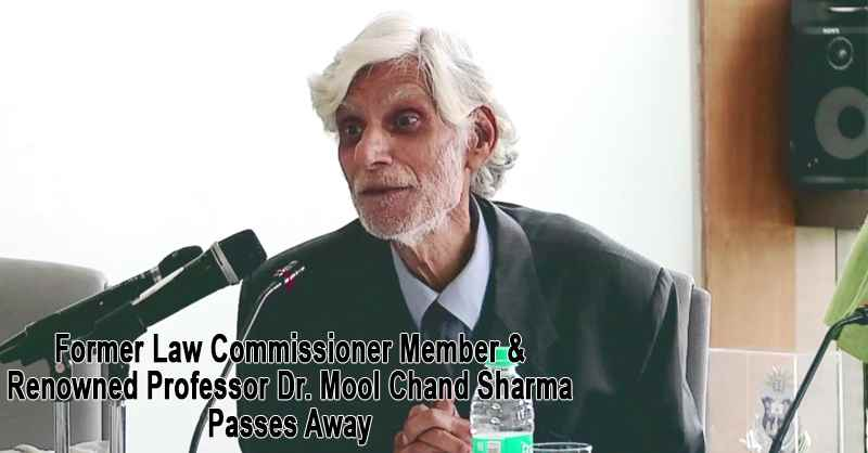 Mool Chand Sharma Passes Away