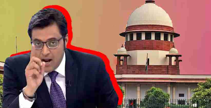 Supreme Court issues notice to the Maharashtra Legislative Assembly in a Plea Filed by Arnab Goswami