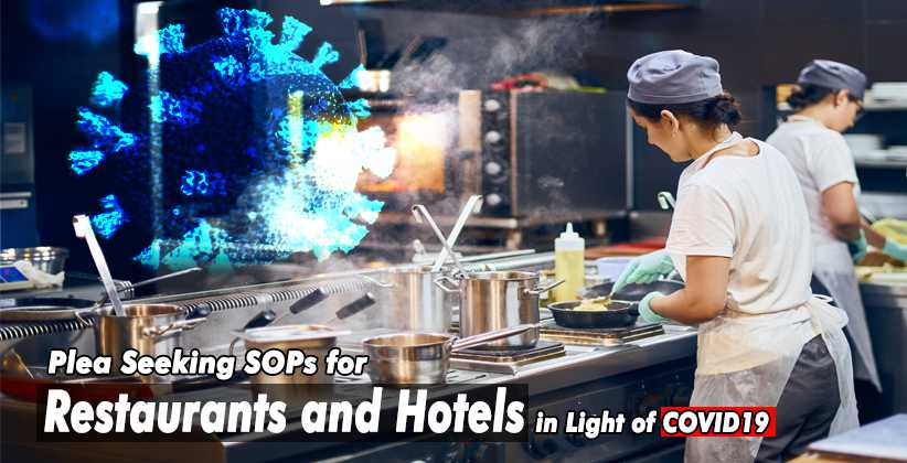 Restaurants Hotels SOP