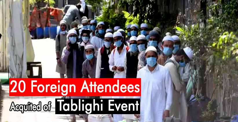 Tablighi Jamaat Foreign Attendees