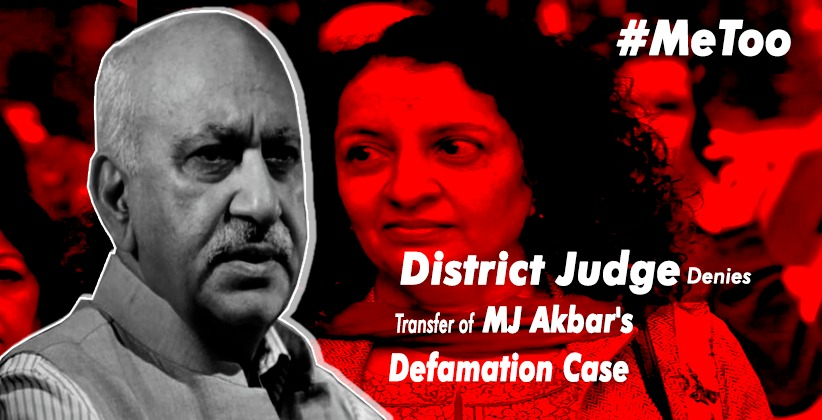 District Judge Denies Transfer of MJ Akbar's…