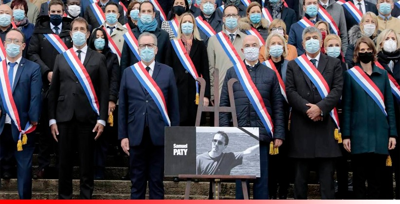 France Honours Beheaded Teacher, Govt Launches Crackdown Against Radical Groups