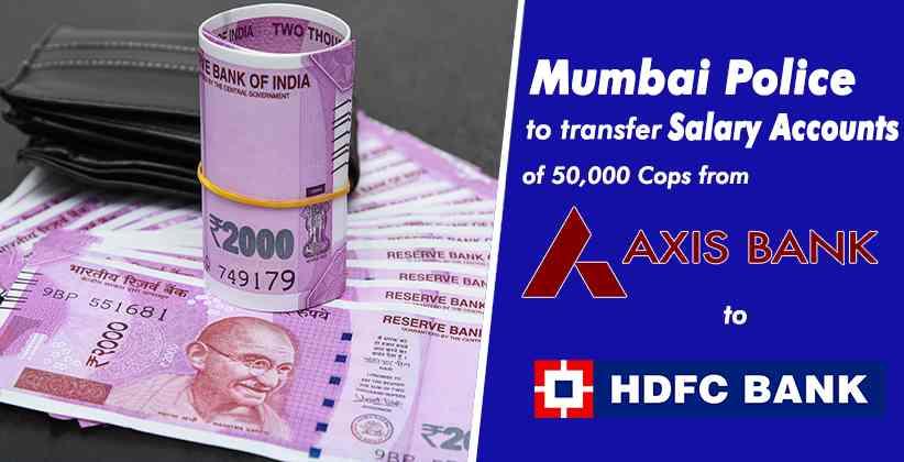Mumbai Police Axis HDFC Bank