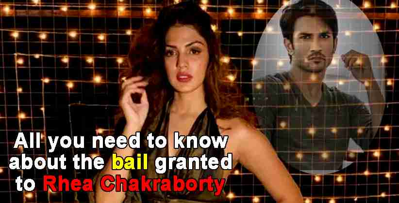 Rhea Chakraborty NDPS Bail Granted
