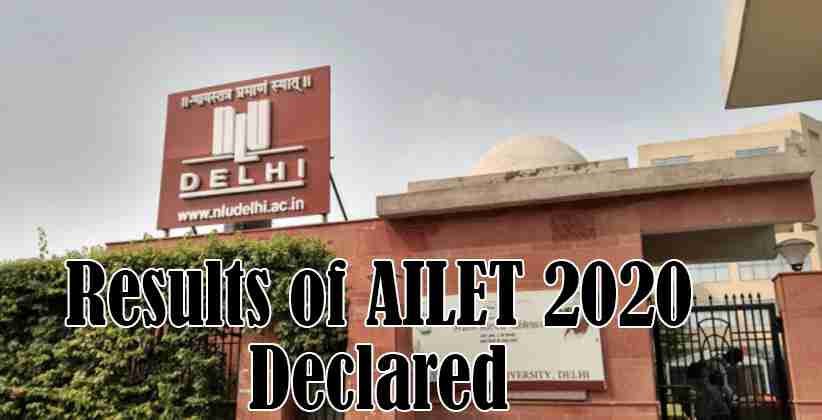 NLU Delhi AILET Results