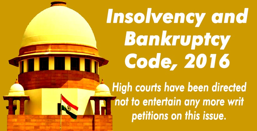 Supreme Court Reserves Order on IBBI's Plea Seeking Transfer of HC Cases Challenging Personal Guarantors' Insolvency