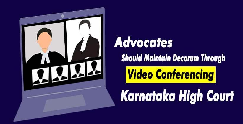 Karnataka HC Video Conference