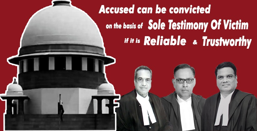Accused can be convicted on the basis of…