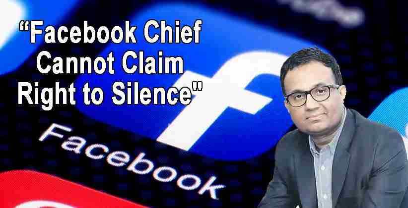 Facebook Delhi Legislative Ajit Mohan