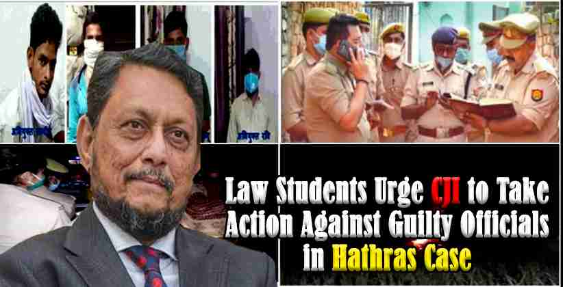 LawStudents Hathras Gang Rape CJI
