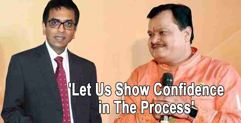 'Let Us Show Confidence in The Process': Says Justice Chandrachud in Sudarshan TV case