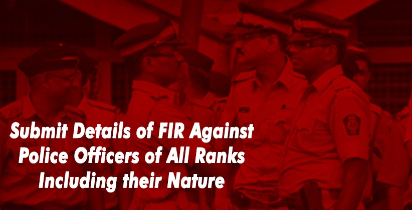 Submit Details of FIR Against Police Officers of All Ranks; Explain Rationale of their Continuance In-Service: Punjab & Haryana High Court To Govt. [READ ORDER]
