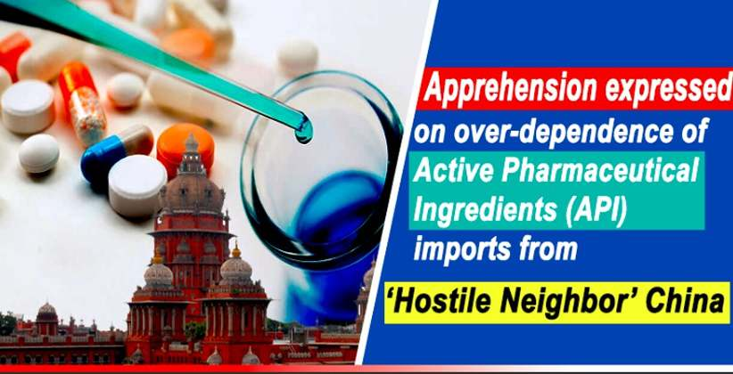 Madras High Court Indian Pharma Sector