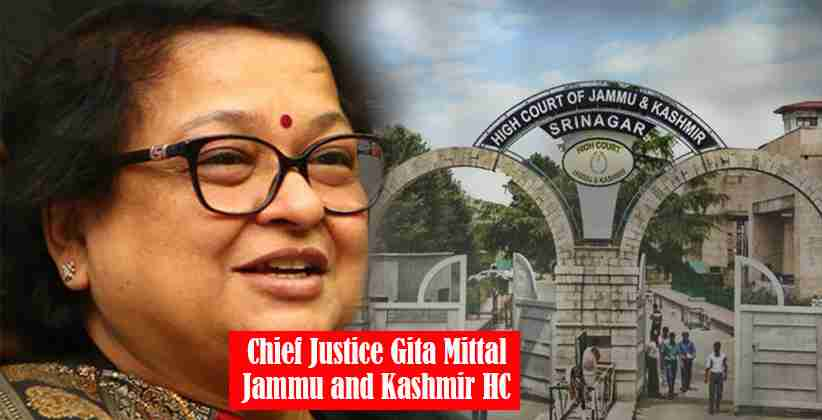 Chief Justice Gita Mittal of J&K HC Constitutes Arbitration Committee for Court Annexed International Arbitration Centre