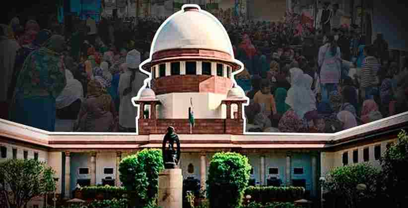 SC: Public Places Can't be Occupied for Protests