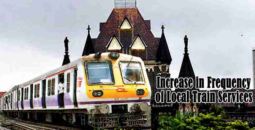 Local Train Services Bombay High Court