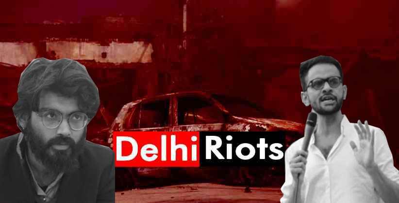 Delhi Riots Umar Khalid Sharjeel Imam