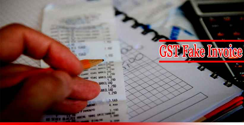 GST Fake Invoice Frauds Chartered Accountants