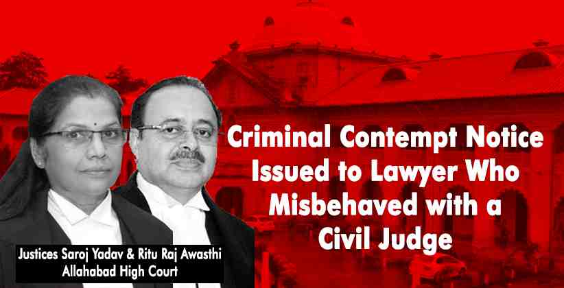 Allahabad HC Criminal Contempt
