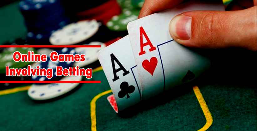Online Game Involving Betting