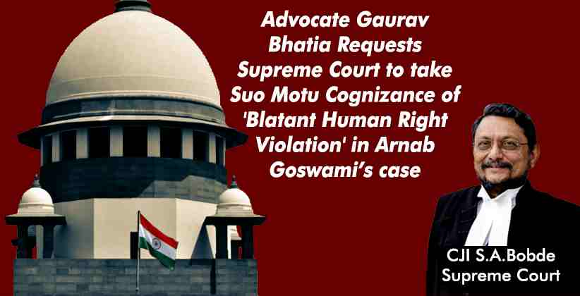 Advocate Gaurav Bhatia Requests Supreme Court