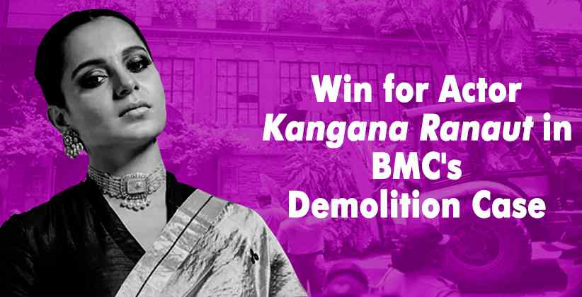 Kangana Ranaut BMC Demolition