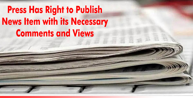 Press Has Right to Publish News Item with its Necessary Comments and Views: Kerala High Court Quashes Defamation Case Against Manorama Editors