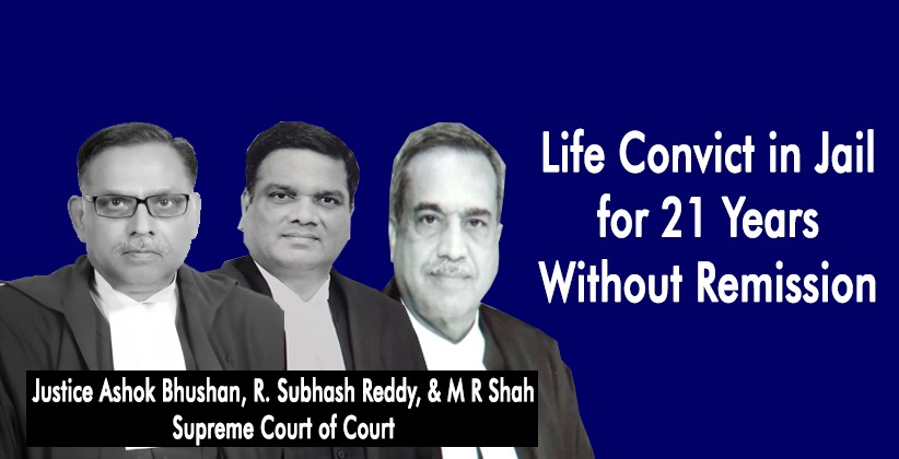 Life Convict in Jail for 21 Years Without Remission: Supreme Court Asks Him to Approach High Court for Bail