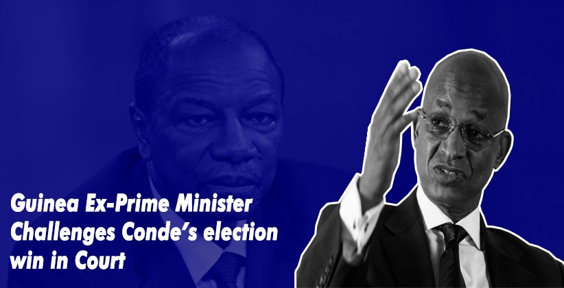 Guinea Ex-Prime Minister Challenges Conde's election win in Court
