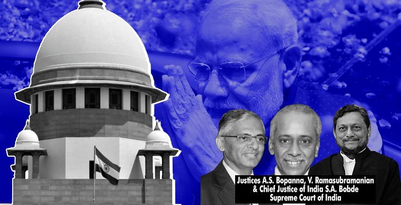 SC Reserves Order in Plea Against Narendra Modi's Election from Varanasi