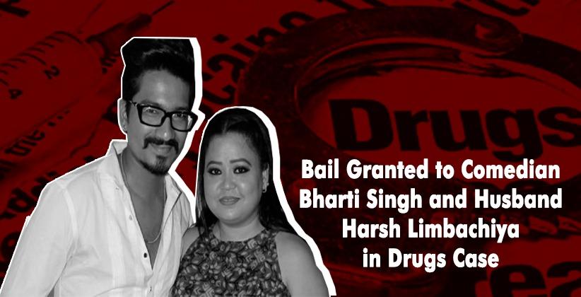 Mumbai Court Grants Bail in Drugs Case to Comedian Bharti Singh and Husband Harsh Limbachiya