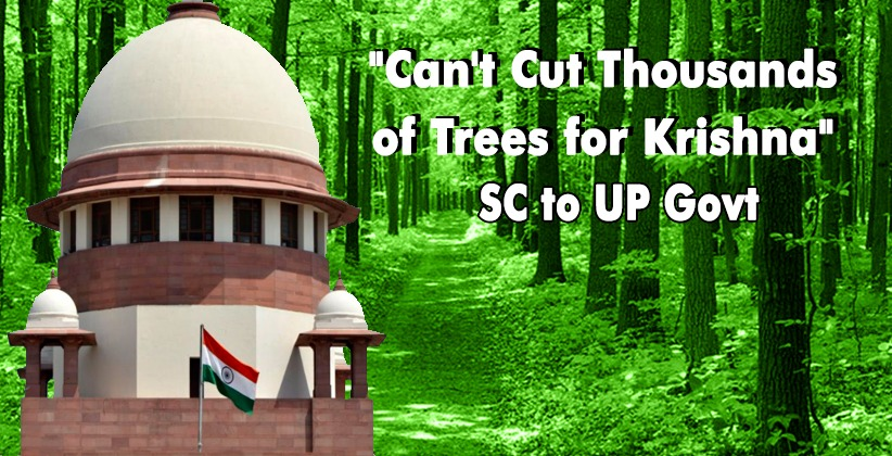 """Can't Cut Thousands of Trees for Krishna"": Supreme Court to UP Government"