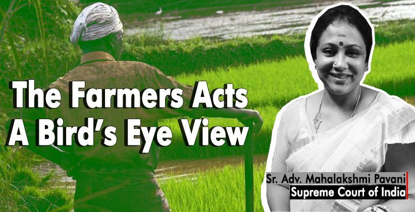 Farmers Acts Mahalakshmi Pavani Supreme Court