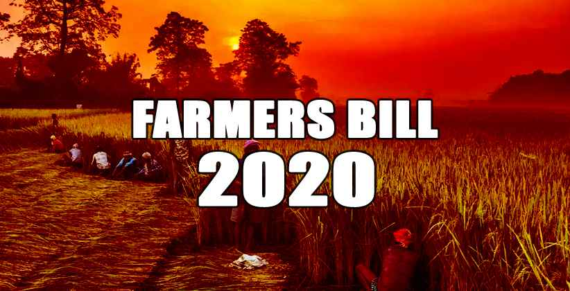 Farmers Bill Dismay Farmers