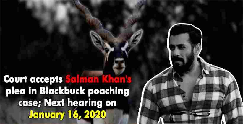 Blackbuck poaching Salman Khan