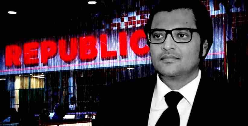 Arnab Goswami Republic Cognizance