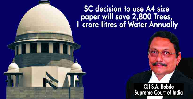 Supreme Court Environment Save Trees