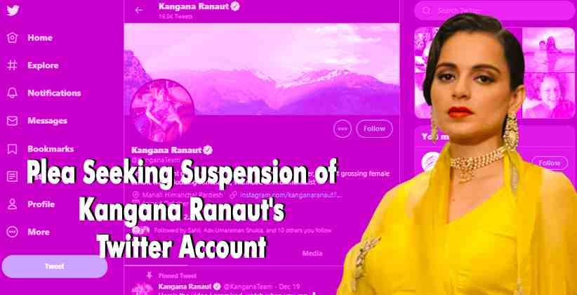 Kangana Ranaut Twitter Account