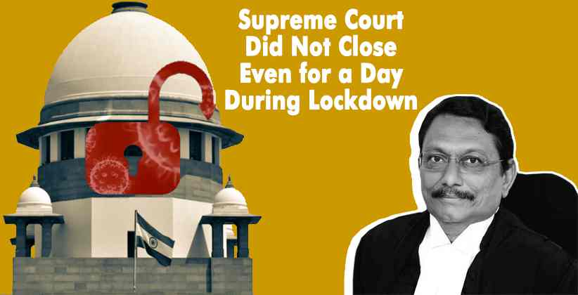 Supreme Court Lockdown Bobde