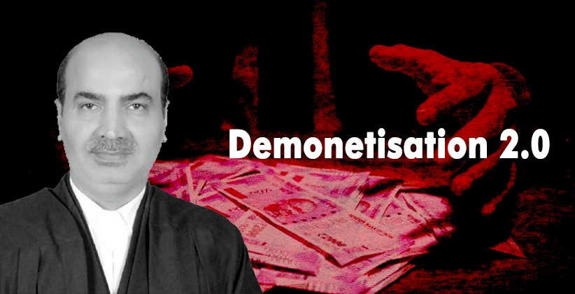 Plea in SC seeking Demonetisation 2.0 and Establishment of Anti- Corruption Court