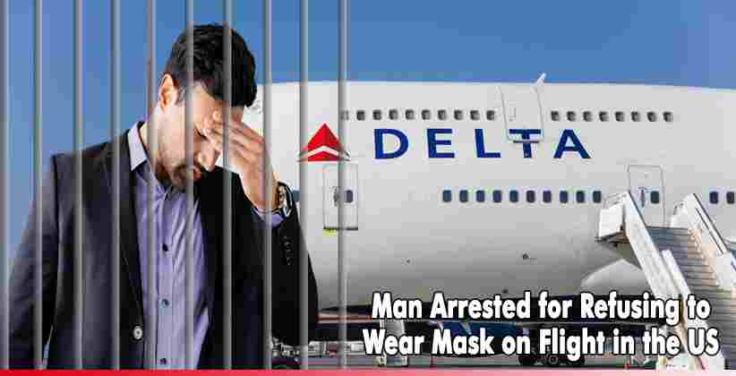 Arrested for Refusing to Wear Mask