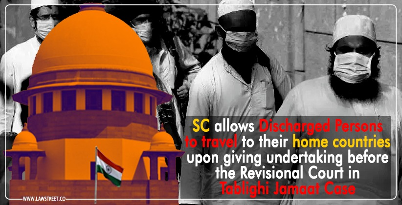 SC allows Discharged Persons to travel to…
