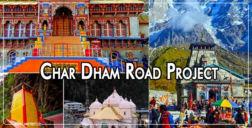 Char Dham Road Project: Petitions to be listed in last week of January, 2021 as ordered by SC