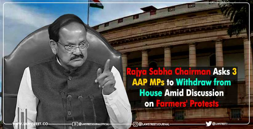 Rajya Sabha AAP Farmers Protests