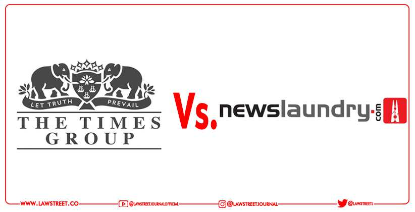 News Laundry Times Group Defamation