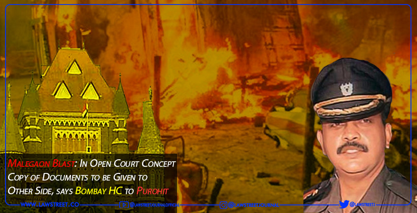 Malegaon Blast: In Open Court Concept Copy of Documents to be Given to Other Side, says Bombay HC to Purohit