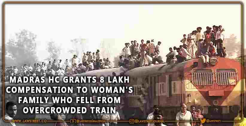 Madras HC Overcrowded Train