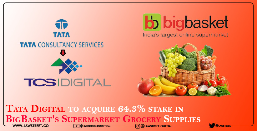 Tata Digital to acquire 64.3% stake in BigBasket's Supermarket Grocery Supplies